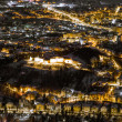 A night exposure over Brasov — Stock Photo