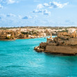 Grand Harbor, Valetta, capital of Malta — Stock Photo