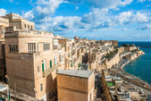 Old Harbor and Victoria gate, Valetta, Malta. — Stock Photo