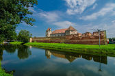 The Fagaras Fortress in Brasov County, Romania. — Stock Photo