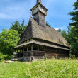 Maramures, landmark - wooden church — Stock Photo