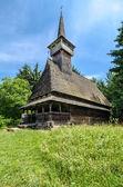 Maramures, landmark - wooden church — Stock Photo