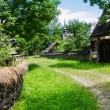 Rural landscape of an old vilage in Maramures — Stock Photo