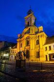 Catholic medieval church in Brasov, Romania — Stock Photo