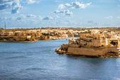 Grand Harbor, Valetta, capital of Malta — Stock Photo