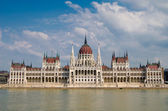 Hungarian Parliament, Budapest — Stock Photo
