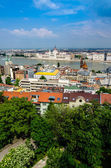 Budapest overview — Stock Photo