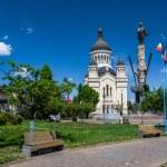 Avram Iancu Square,Cluj-Napoca,Romania — Stock Photo #31174679
