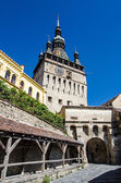 Clock Tower, Landmark of Transylvania, Sighisoara — Stock Photo