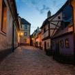 Little medieval houses on Golden Lane,Praha — Stock Photo