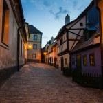 Little medieval houses on Golden Lane,Praha — Stock Photo #31975435