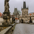Постер, плакат: Charles bridge and Mala Strana