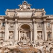 Trevi Fountain (Fontana di Trevi) in Rome, Italy — Stock Photo #33154531