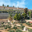 Jerusalem old walls, Israel — Stock Photo