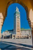 мечеть хасана ii, касабланка — Стоковое фото