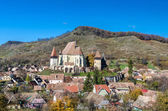 Biertan fortified church, Transylvania — Stock Photo