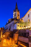 Evanghelical Church in Sibiu — Stock Photo