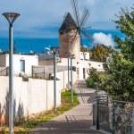 Traditional windmill in Palma de Majorca, Spain. — Stock Photo #34262025