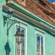 Green House in Sighisoara, Romania — Stock Photo