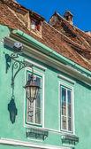 Green House in Sighisoara, Romania — Stock Photo