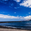 Seaside in Tenerife, Teide Spain — Stock Photo