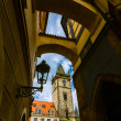 Old Town Hall, Stare Mesto,Prague — Stockfoto
