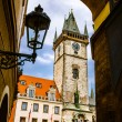 Old Town Hall, Stare Mesto,Prague — Foto de Stock