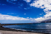 Seaside in Tenerife, Teide Spain — 图库照片