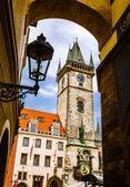 Old Town Hall, Stare Mesto,Prague — Stock Photo