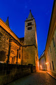 View of narrow Jirska Street in Prague Castle — Stock Photo