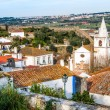 Overview of Obidos - Portugal — Stock Photo