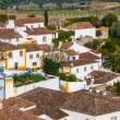 Street view of Obidos - Portugal — Stock Photo