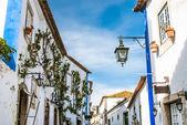 Obidos landmark, old medieval city — Stock Photo