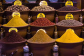 Spices in turkish market — Stock Photo