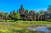 Bayon Temple (Prasat Bayon) at Angkor Thom — Stock Photo