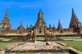 Wat Chaiwatthanaram, Ayuthaya Province, Thailand — Stock Photo