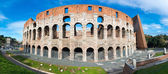 Colosseum or Coliseum, the Flavian Amphitheatre — Stock Photo