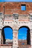 Colosseum -architectural detail — Stock Photo