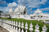 Wat Rong Khun (White Temple), Chiang Rai, Thailand — Stock Photo