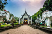 Wat Lok Moli temple in Chiang Mai — Stock Photo