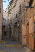 Narrow streets of old Jaffa. Israel — Stockfoto