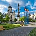 Avram Iancu Square,Cluj-Napoca,Romania — Stock Photo #42721531