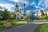 аврам янку квадратных, клуж напока, румыния — Стоковое фото