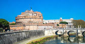 Castel Sant'angelo, Rome, Italy — Stock Photo