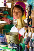 Long Necked Woman,Thailand — Stock Photo