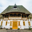 barsana monastery complex in maramures — Stock Photo