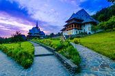 Барсана монастырский комплекс в Марамуреш — Стоковое фото