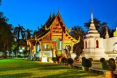 Wat phra singh tempel in chiang mai, thailand — Stockfoto