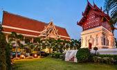 Wat Phra Singh Woramahaviharn in Chiang Mai — Stock Photo