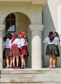 妇女在传统的服饰,从马拉穆列什 — 图库照片